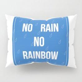 No Rain No Rainbow Pillow Sham