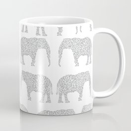 Alabama bama crimson tide elephant state college university pattern footabll Coffee Mug