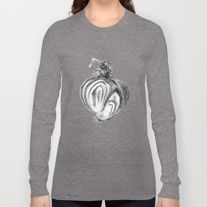Withered Onion Long Sleeve T-shirt