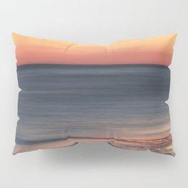 Fiery Sunset Over Galveston Beach Texas Pillow Sham