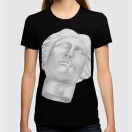 Neoclassical French head statue T-shirt