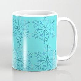 Winter/Christmas - Snow Crystals V.6 Coffee Mug