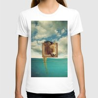 sea horse T-shirts featuring Sea Horse by Ross Sinclair