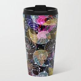 C13D Seashell Sparkle Metal Travel Mug