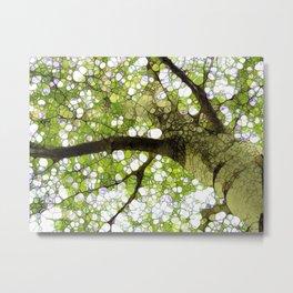 Tree Energy Metal Print