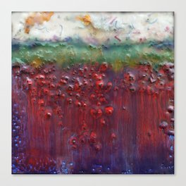 Colors of the Season (christmas abstract) Canvas Print