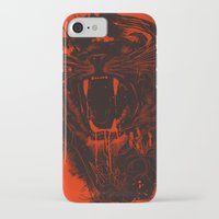 king iPhone & iPod Cases featuring The King by nicebleed