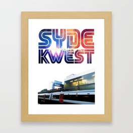 Syde Kwest Framed Art Print