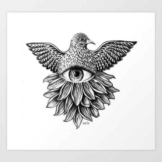 Vide Omnia Art Print