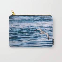 Bird flying across the Niagara river Carry-All Pouch