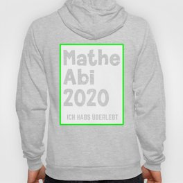 Math Abi 2020 I survived Hoody