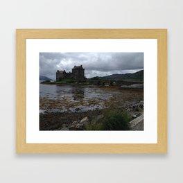Eilean Donan Castle in Scotland Framed Art Print
