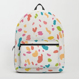 Colorful Animal Print Backpack