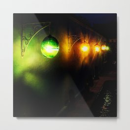 Night light lanterns Metal Print
