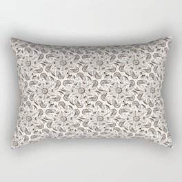 Mehndi or Henna Mandala Rectangular Pillow