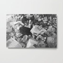 suffocation Metal Print