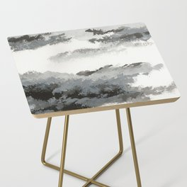 clouds_december Side Table