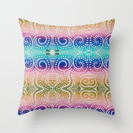 The Junkyard Throw Pillow