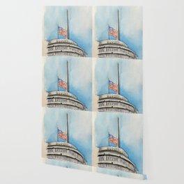 Capitol Records Building Wallpaper
