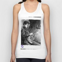 alex turner Tank Tops featuring Alex Turner   by vooce & kat