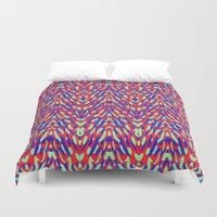 damask Duvet Covers featuring Damask by Denisse Cucalón Carbó