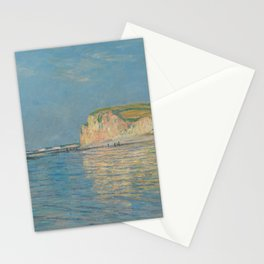 Low Tide at Pourville, near Dieppe, 1882 Stationery Cards