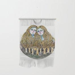 Goblin Market - illustration of poem by Christina Rossetti Wall Hanging