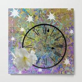 Time Explodes Metal Print