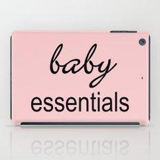 Baby Essentials Pantone 2016-Rose Quartz iPad Case