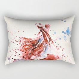 Underwater rainbow : The king of the sea Rectangular Pillow