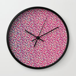 Crazy Pattern Wall Clock