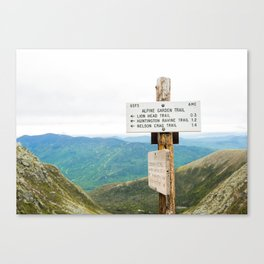 Explore the Appalachian Canvas Print