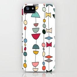 Atomic Beads iPhone Case