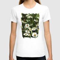 daisies T-shirts featuring Daisies by Usha Shantharam