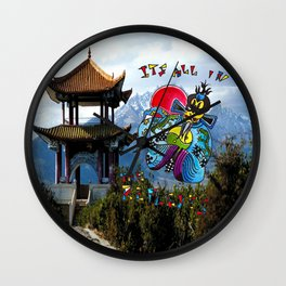 Big Trouble In Little China  Wall Clock