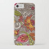 random iPhone & iPod Cases featuring Random Flowers by Valentina Harper