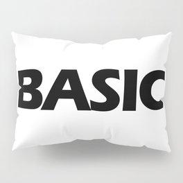 BASIC in Black Pillow Sham