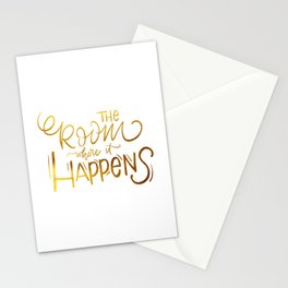The Room Where it Happens Stationery Cards