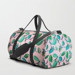 Mayfair Lizards and Leaves Duffle Bag