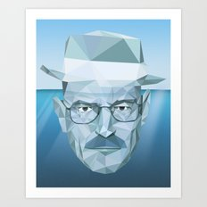 Tip of the Heisenberg Art Print