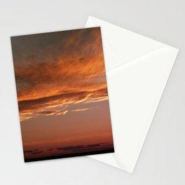 September sunset 2 Stationery Cards