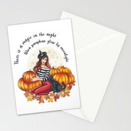 Magic in the Night Stationery Cards