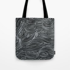 inverted brain map Tote Bag