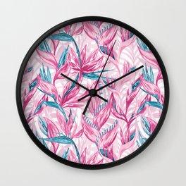 Paradise garden Wall Clock