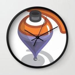 sp.eye.nning top Wall Clock