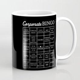 Corporate Jargon Buzzword Bingo Card Coffee Mug