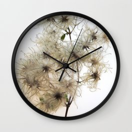 Florales · plant end 8 Wall Clock