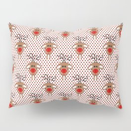 Reindeer Christmas Pillow Sham