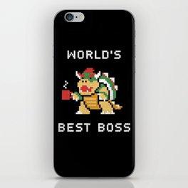 World's Best Boss iPhone Skin