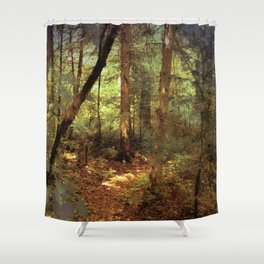 What Do You Hear Shower Curtain